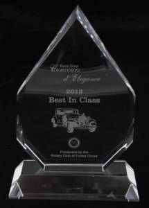 Engraved Best in Class - Crystal