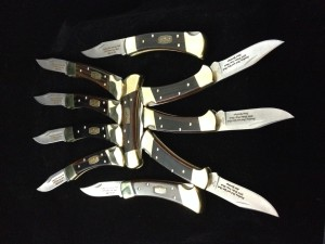 Engraved Buck Knives