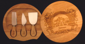 Engraved Cheese Box