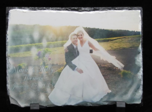 Thinking about having a memory put on something you can show off keeping it close to your heart. Having a picture put on a nice rock to display in your office or at home gives that personal touch to preserving a memory.